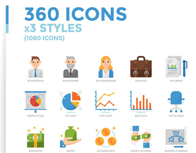 Icons Pack Design