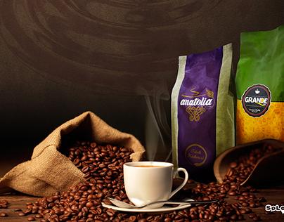Grande Türk Kahvesi ve Espresso Kahve Ambalaj Tasarımı
