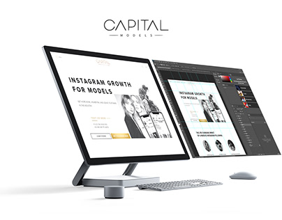 Capital Models - Website Redesign