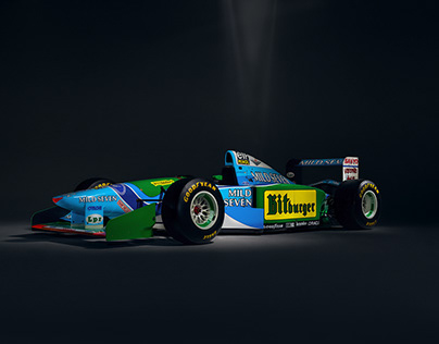United Colors of Benetton - F1 B194