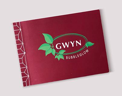 Gwyn Bubbleglow | Typography