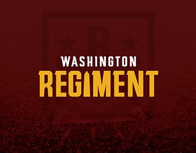 Washington Redskins Rebrand - Washington Regiment