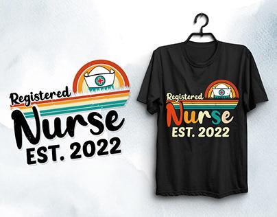 Registered Nurse T-Shirt Design