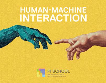 Human Machine interaction/ PI SCHOOL (event branding)