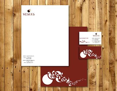 VOSGES | Logo Re-Design