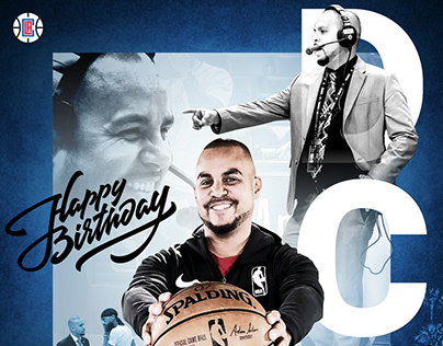 Clippers Director B-Day Graphic
