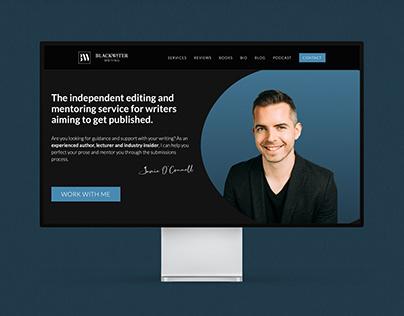 Blackwater Writing   Branding & Web Design