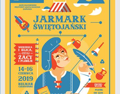 St John's Fair poster / Kraków 2019