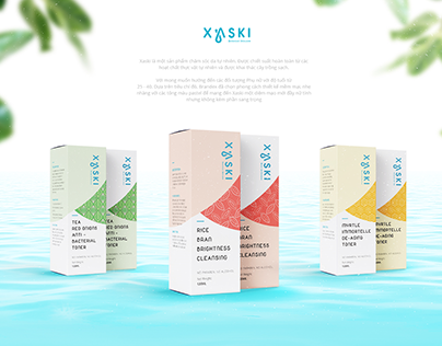 Xaski Brand Identity and Packaging
