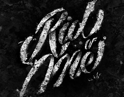 Rid of Me - Lettering