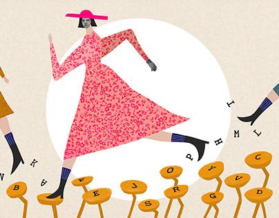 World Women's Rights Day Illustration - LAV Turkey