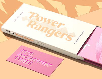 Power Ranger Make up