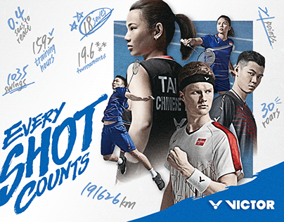 2020 VICTOR BRAND CAMPAIGN - EVERY SHOT COUNTS