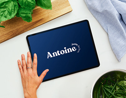 Antoine.ca - Rebranding and UX/UI