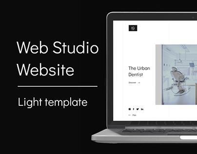 IG Web studio website design