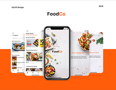 FoodCo - A Food Delivery App.