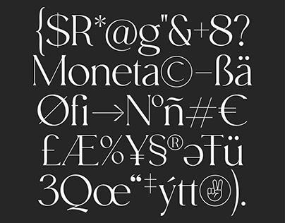 Moneta Typeface