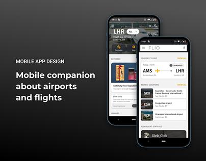 FLIO - Mobile App Design
