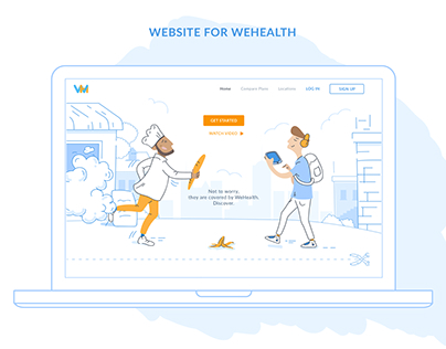 WeHealth Landing Page