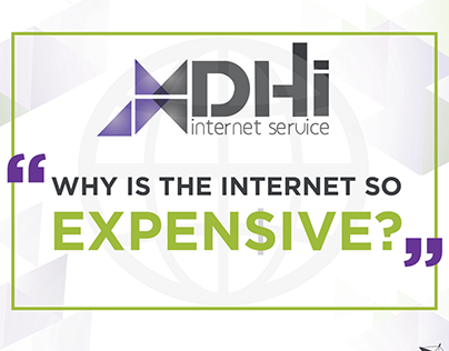 DHI Internet Service Infographic