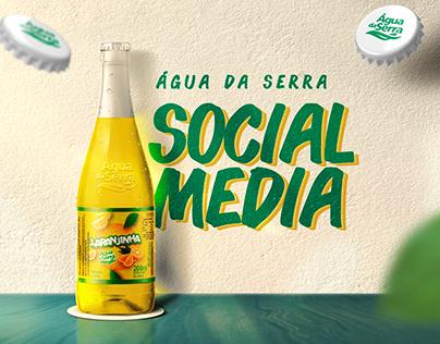 Água da Serra - Redes Sociais