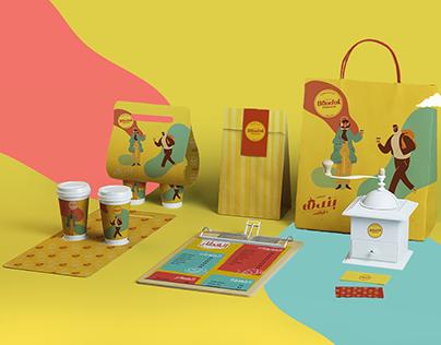 bondok coffee packaging & outdoor campaign