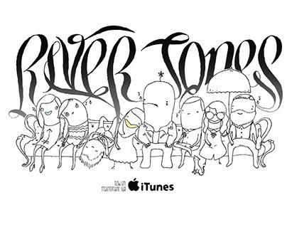 River Jones iTunes ad
