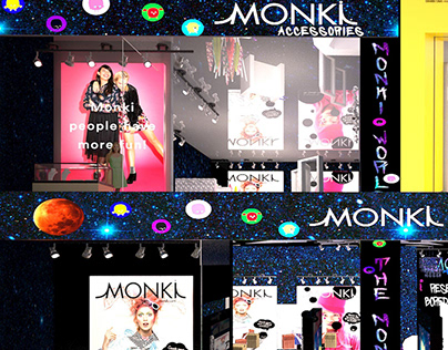Monki : Into the Galaxy Theme