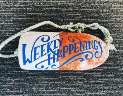 Weekly Happenings