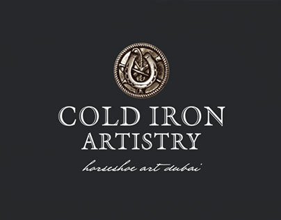 Cold Iron Artistry: Brand Identity and Application