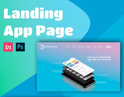 Landing App Page