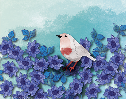 flowers and birds 2