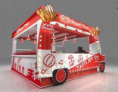 Walls Dessert Truck Karachi Eat Festival