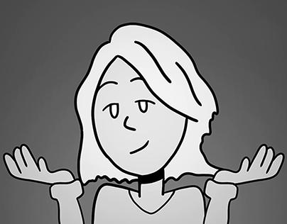Barbara Kiss   Animated lyric Video