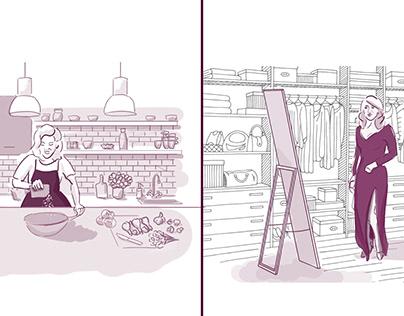 appetita. smak i styl - stroyboardy i scenariusz
