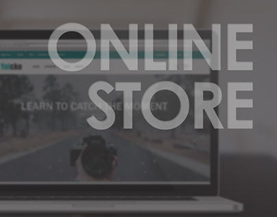 Online store for the sale of phototechnics.