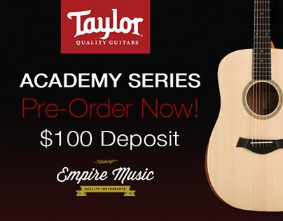 Taylor Guitar Ads