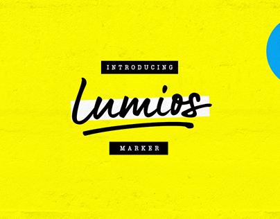 Lumios Marker Font Family