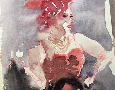 Marquesa a la Lautrec