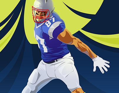 Sports vector illustrations