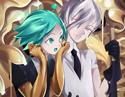 Master and Apprentice - Houseki no Kuni by Hyoung Kim