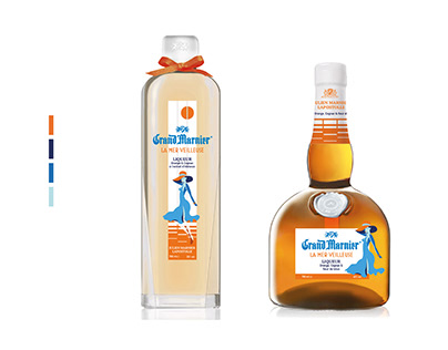 Packaging . Le Grand Marnier édition French Riviera