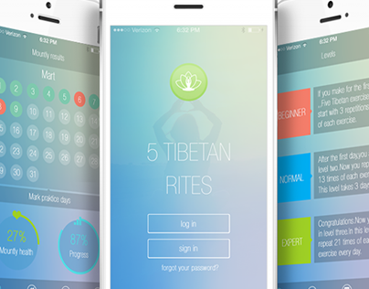 Mobile app for yoga exercises