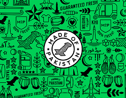 Made of Pakistan: Branding + Merchandise