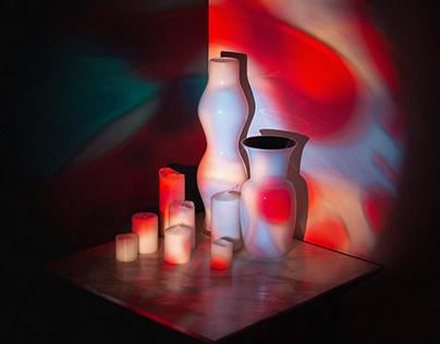 renato51 & gabryant. Linee, Colori. Album Cover Design