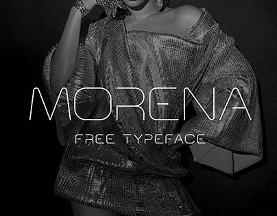 Morena Free Typeface