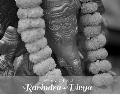 Divya + Ravindra - Wedding