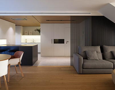 Duplex at the golf course by Manuel García Asociados