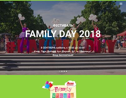Family Day 2016-2018 Festival