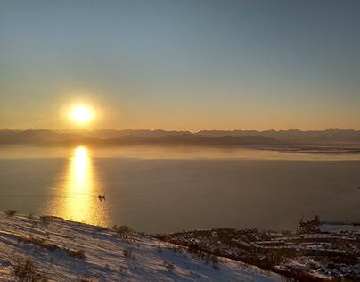 Sunset Kamchatka